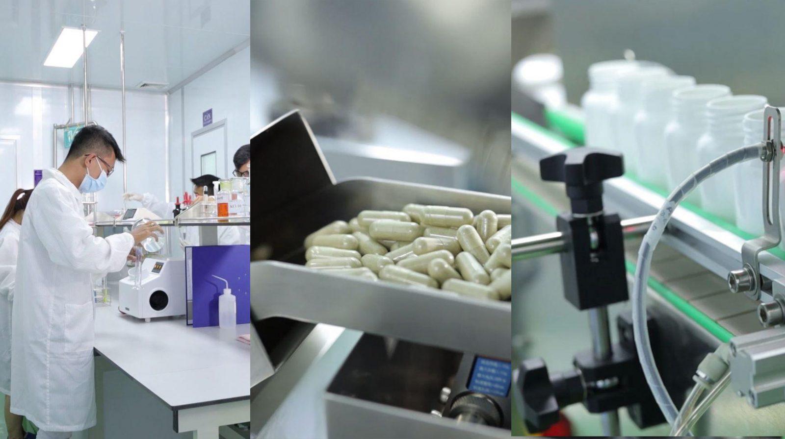 Quy trình sản xuất thực phẩm chức năng