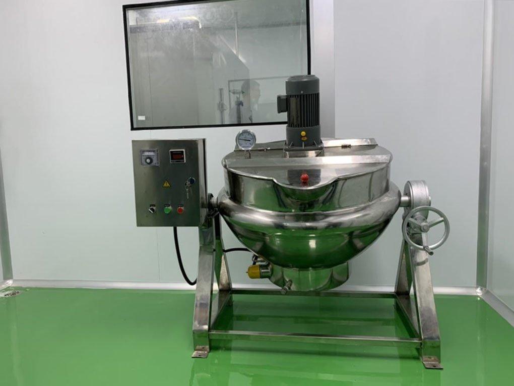 Máy nấu mạch nha - gia công viên hoàn